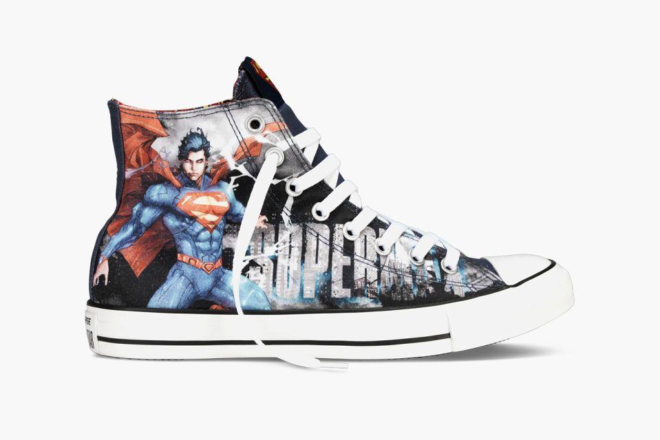 Chuck taylors, Superman shoes, Converse