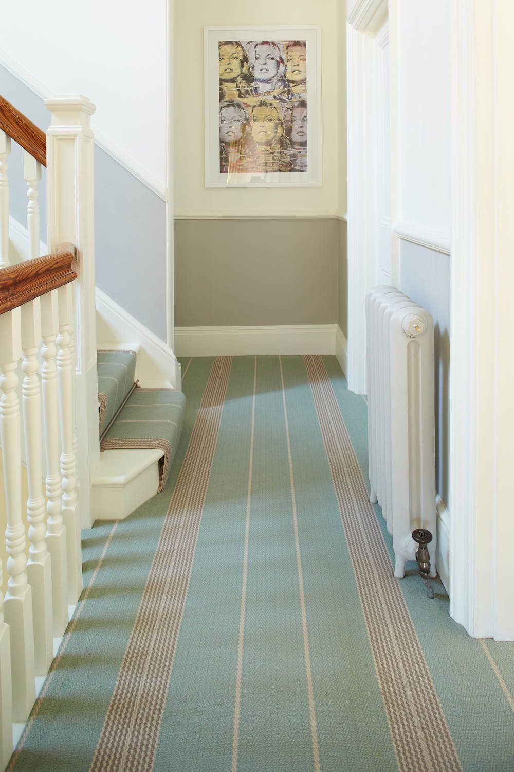 Best Roger Oates Beautifully Fitted Swanson Celadon Carpet 400 x 300