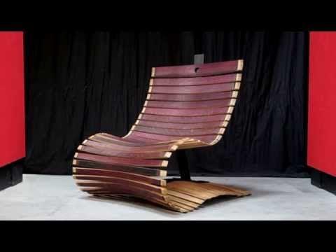 FAUTEUILDOWELL Artisan Décorateur Artistedesigner De - Formation decorateur interieur avec fauteuil bois design