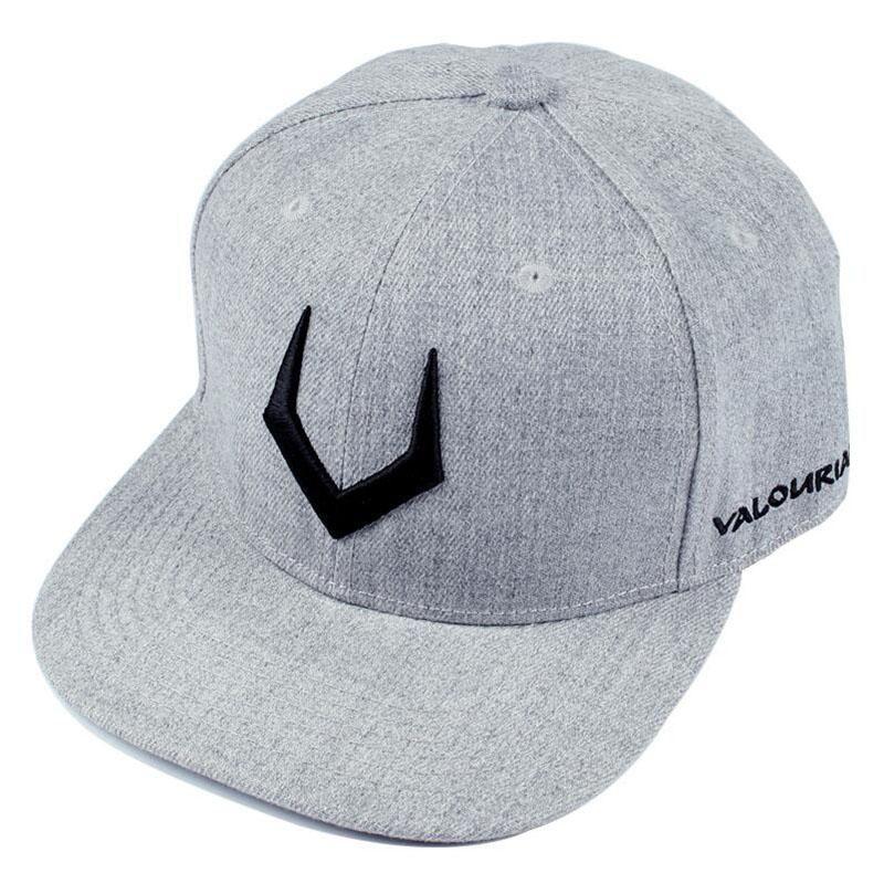 023ef6c40 High quality grey wool snapback 3D pierced embroidery hip hop cap ...