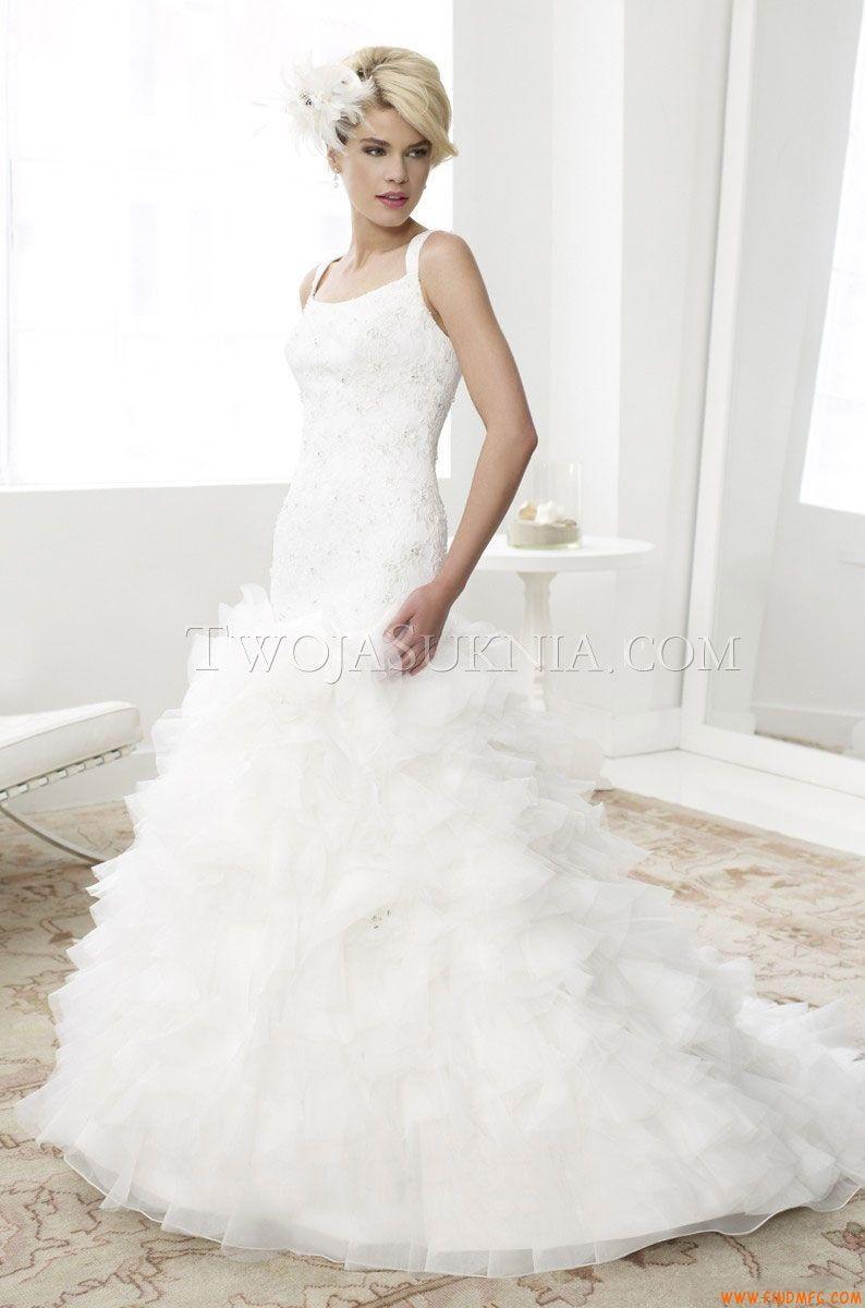 Vestidos de noiva Moonlight D8030 Spring 2013