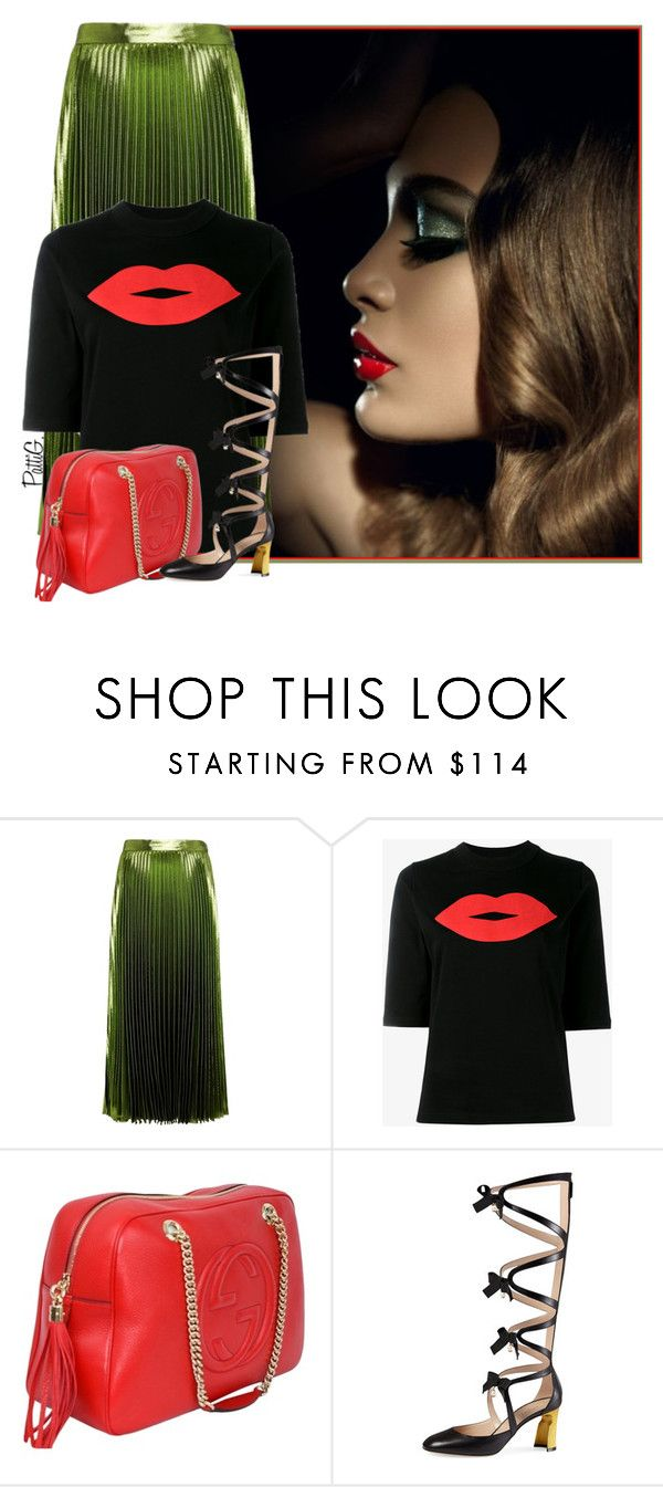 """""""LANA"""" by patigshively ❤ liked on Polyvore featuring Gucci and JOUR/NÉ"""