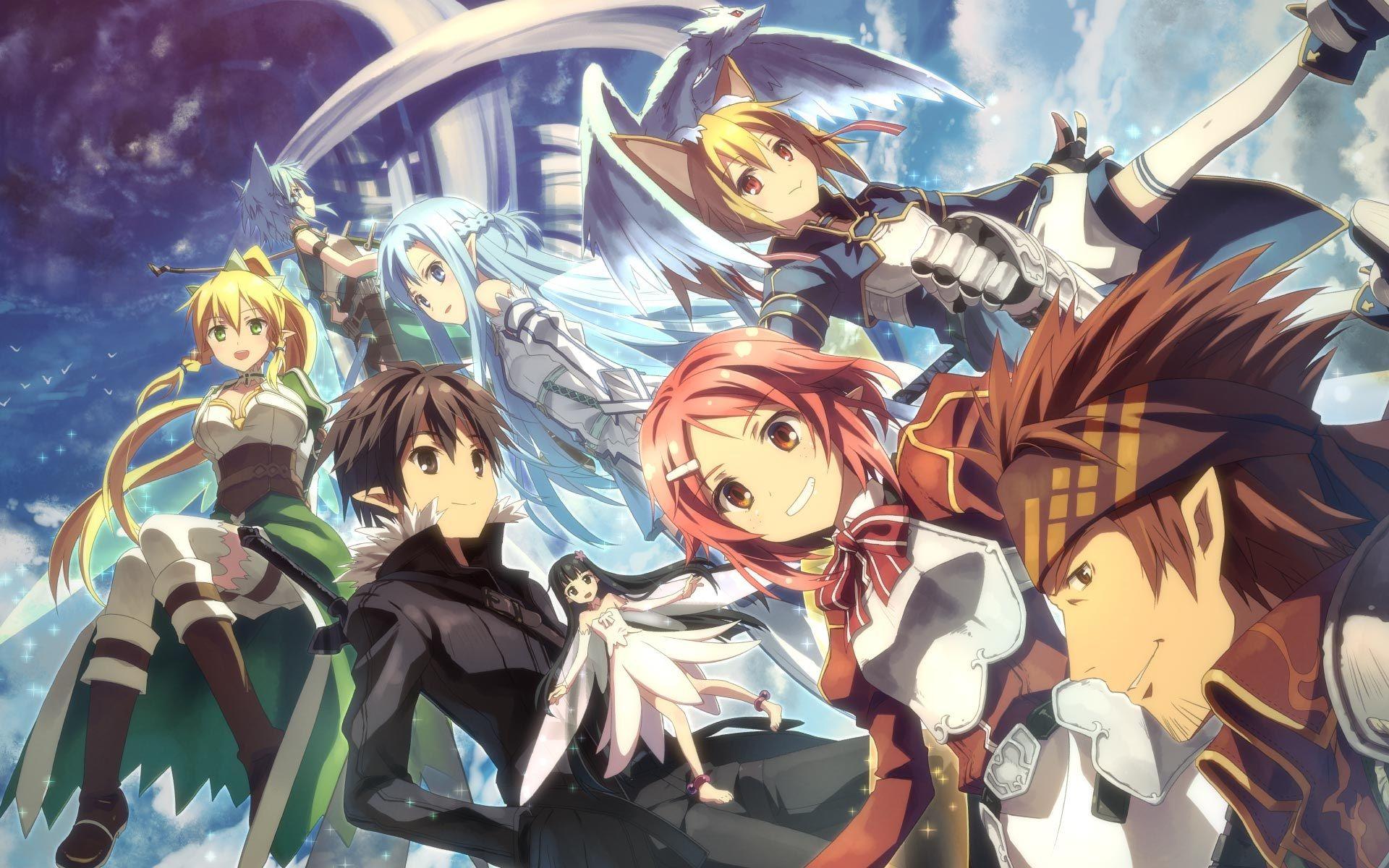 Sword Art Online Season 2 Wallpaper Google Search Arte De