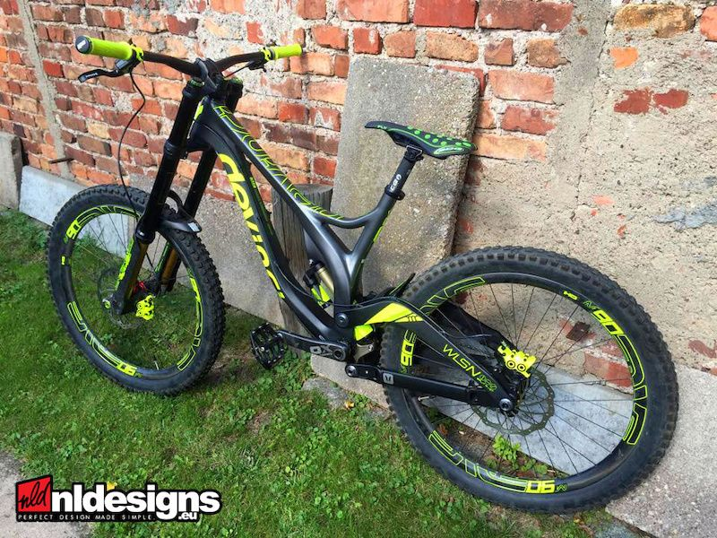 Custom stickers for devinci wilson carbon custom stickers dvo enve m90 bos void