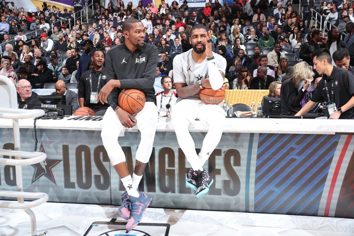 c5171e081b35 KD and  KyrieIrving at the NBA All Star game 2018.