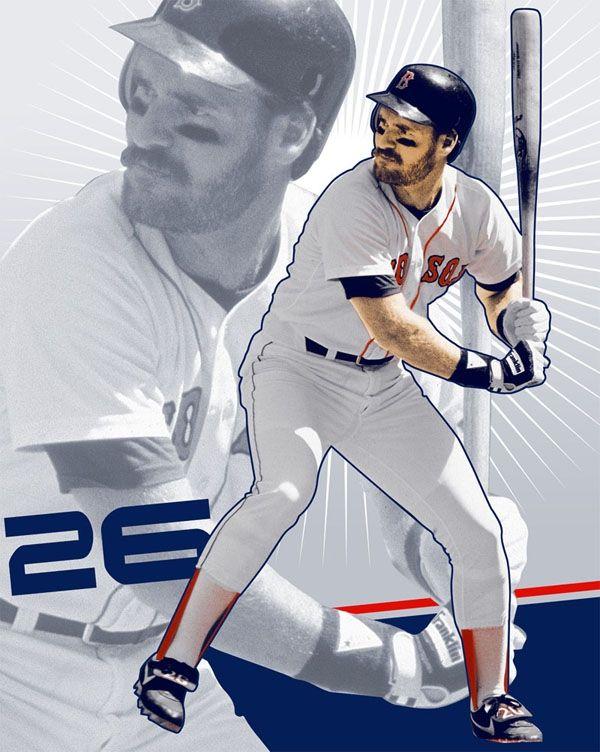 Wade Boggs Red Sox Baseball Red Sox Boston Red Sox