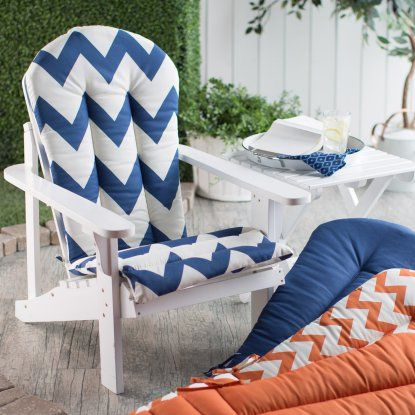 adirondack chair cushions sunbrella canada sale coral coast cushion seat