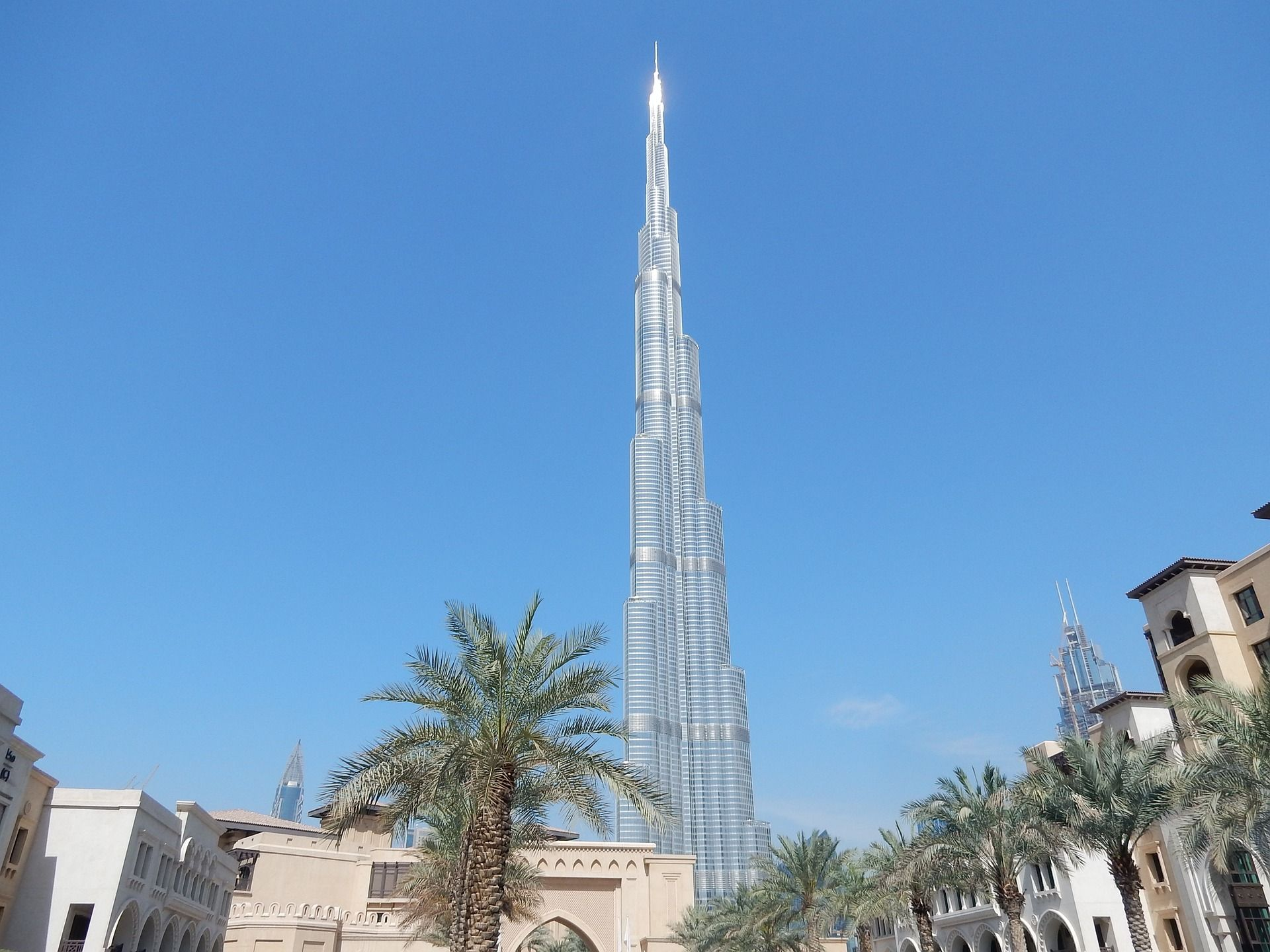 Burj Khalifa looks completely stunning from this angle