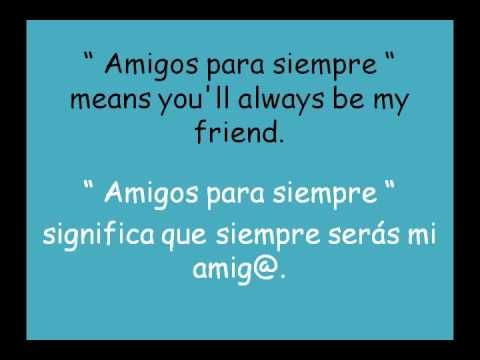Sarah Brightman & José Carreras - Amigos para siempre. This is a gorgeous  and powerful song with 2 great voices beautifully matche… | Sarah  brightman, Songs, Lyrics