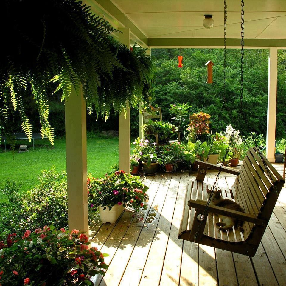 Front Porch Swings Farmhouse Exterior: Pin By Nishay Alfonso On H O M E