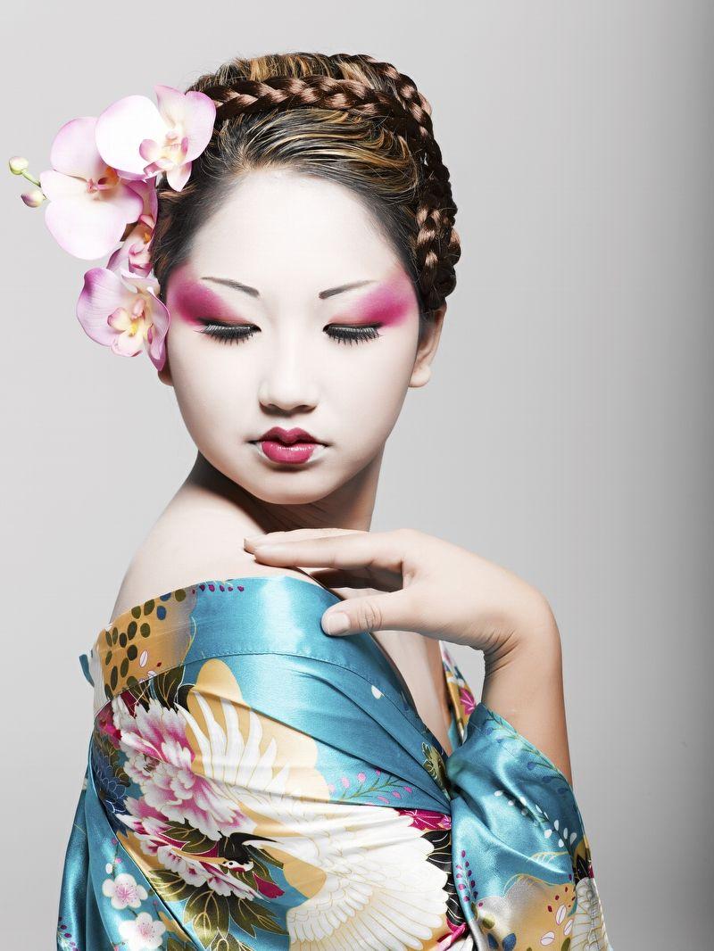 Formas de moda también peinados geisha Galería de ideas de coloración del cabello - Peinado De Geisha Paso A Paso   Las Mejores Imágenes de ...