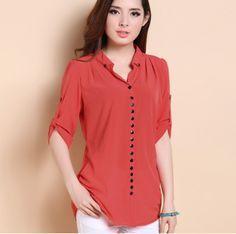 9ec6c0996663 blusas para gorditas de chifon - Buscar con Google | blusas | Blusas ...