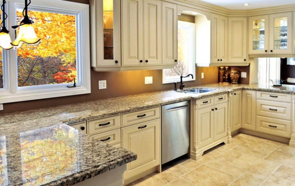 antique white kitchen cabinets - Google Search | New Kitchen Ideas ...