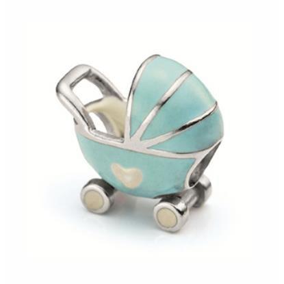 charm pandora carrinho de bebe