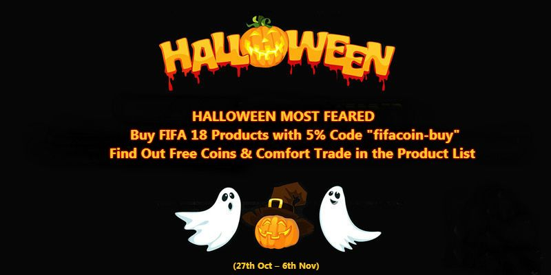 Free Fifa 18 Products On Halloween Fifacoin Buycom Fifacoin Buy