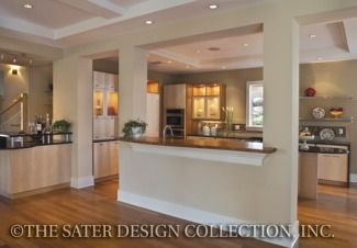 Kitchen Pass Through Designs Delectable Photo Tour  Sater Design Collection Incthe Myrtlewood House . 2017