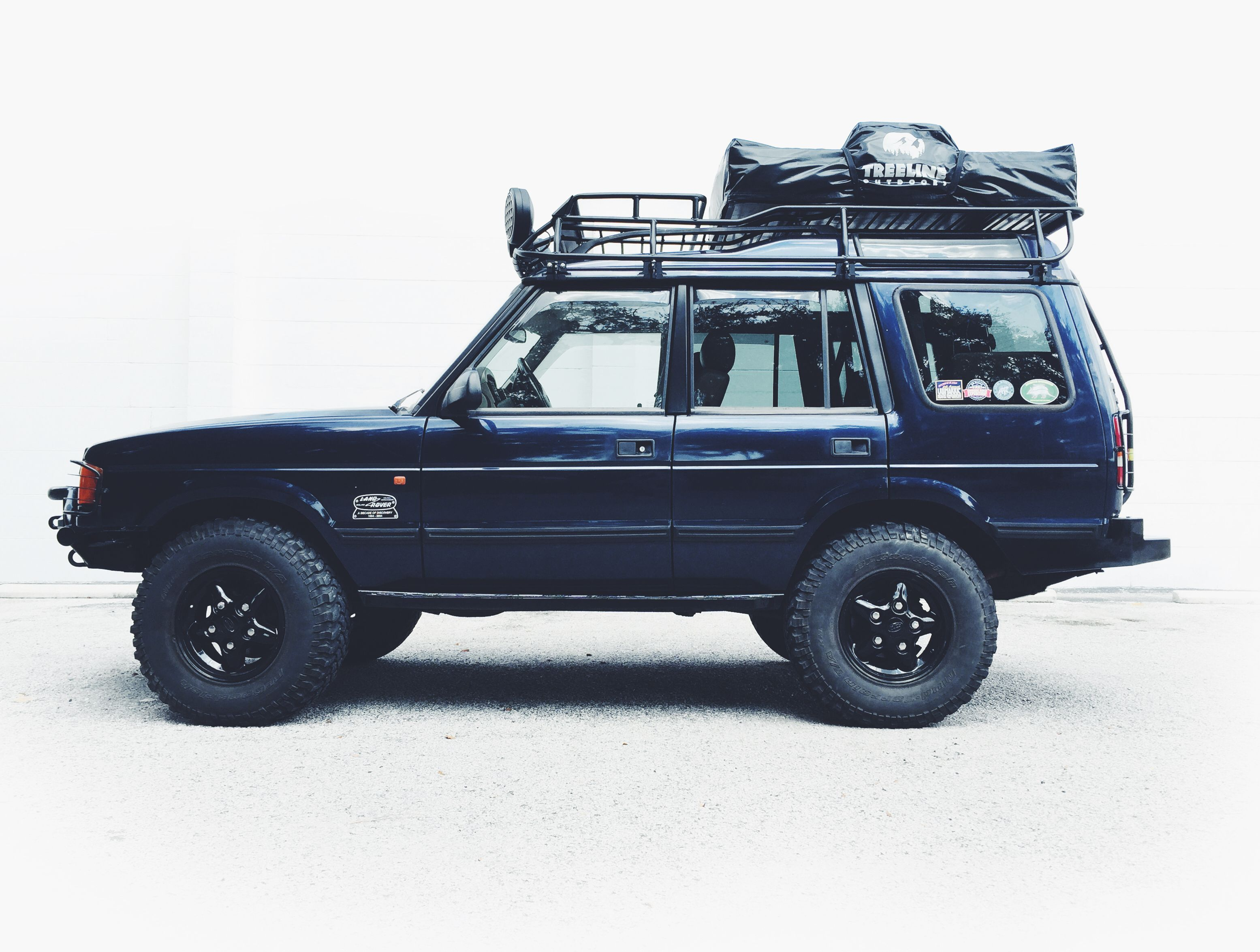 The Overland Empire adventuremobile. 1999 Land Rover ...
