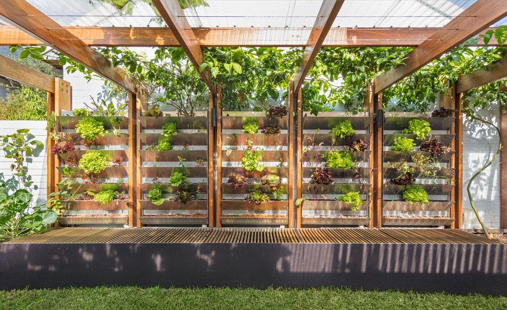 Pin by A E on backyard | Urban farming, Garden design ...