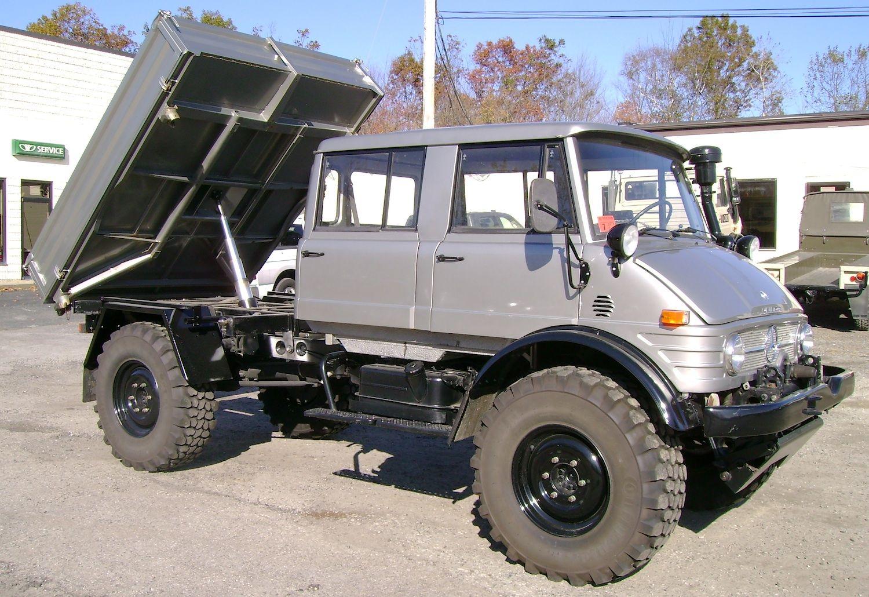 Unimog For Sale >> 4 Door Unimog With Dump Bed Unimog Mercedes Benz Trucks Jeep