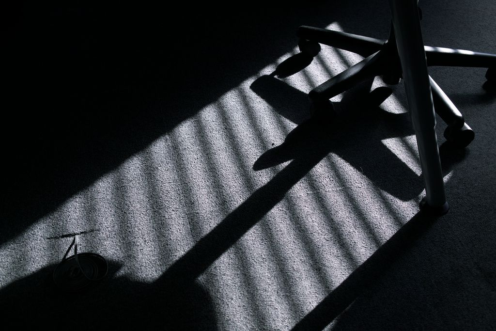 Shade of chair - 05/05/2012