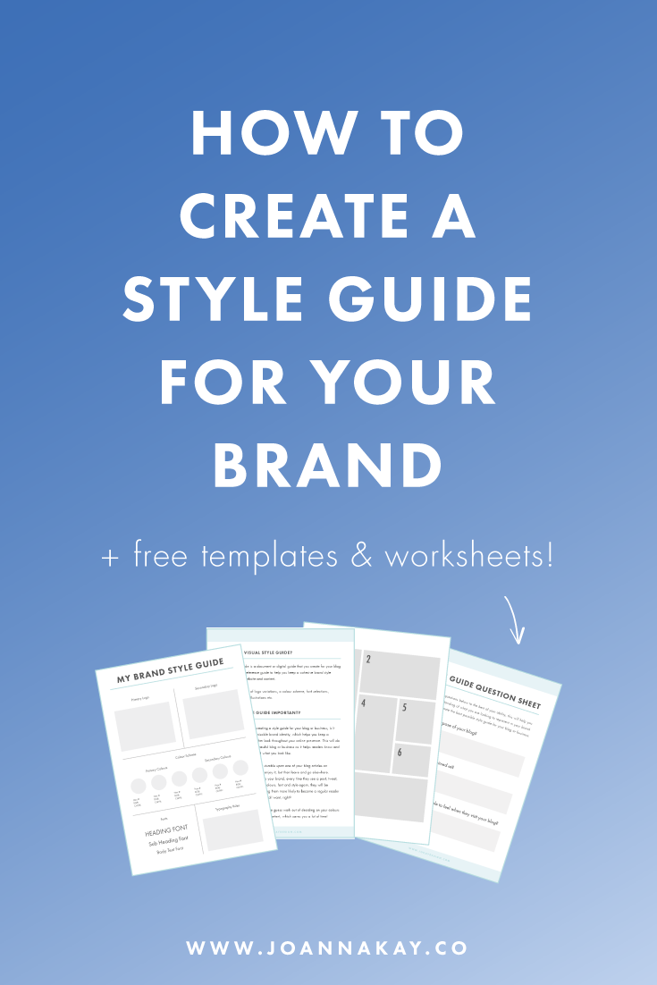 How to Create a Style Guide for Your Brand | Tragetasche