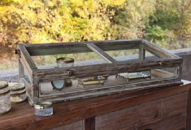 HUGE Jewelry Display Case From Antiquefarmhousecom httpwww