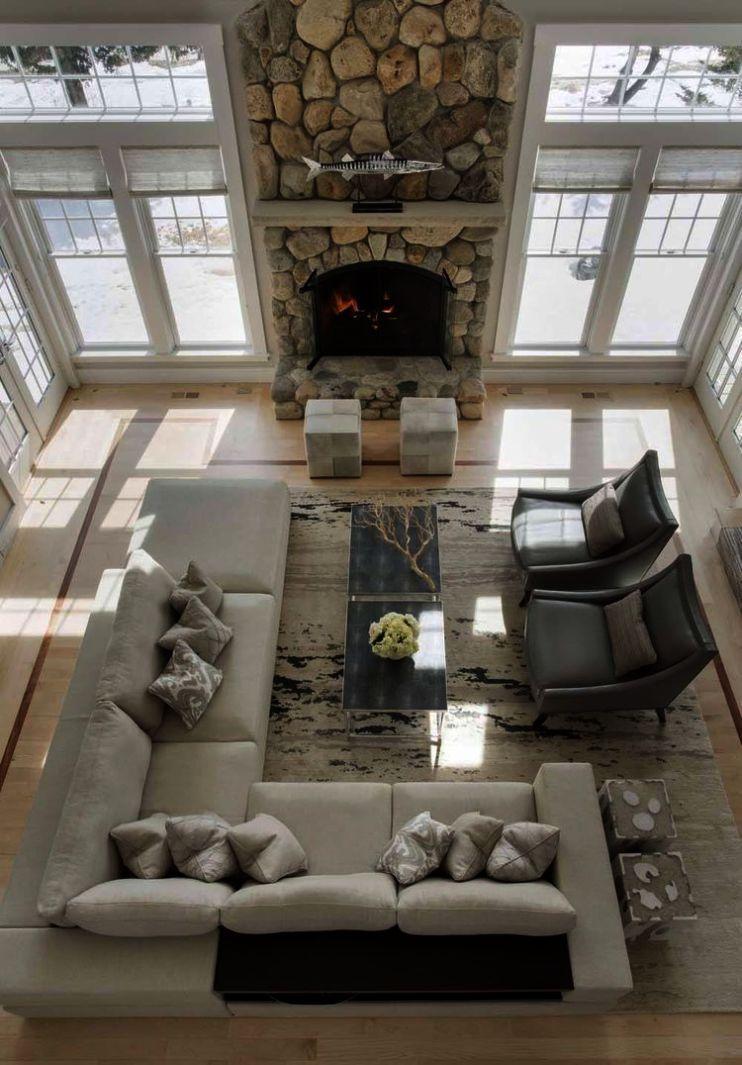 Beautiful Coastal Living Rooms Home Decor Trends 2019 Hgtv Regarding Home Decora Furniture Design Living Room Trendy Living Rooms Living Room Furniture Layout