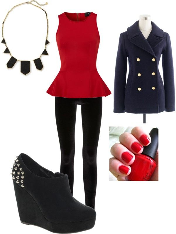 """Christmas Eve church outfit"" by erin-prause on Polyvore"