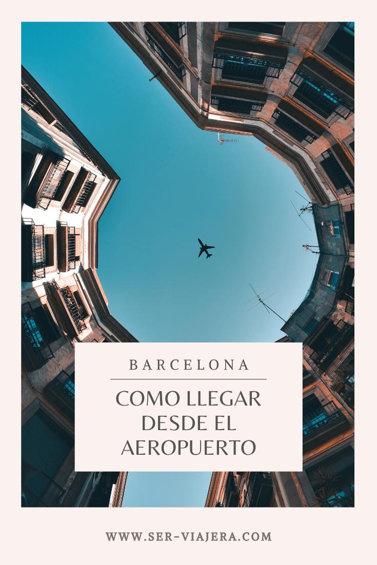 Descubre las alternativas para llegar a Barcelona desde el Aeropuerto El Prat. hay opciones para todos los bolsillos, cuál es la tuya? #barcelona #viajesbaratos #barcelonaespaña #tipsdeviaje #consejosviajeros #aeropuertobarcelona #serviajerablog
