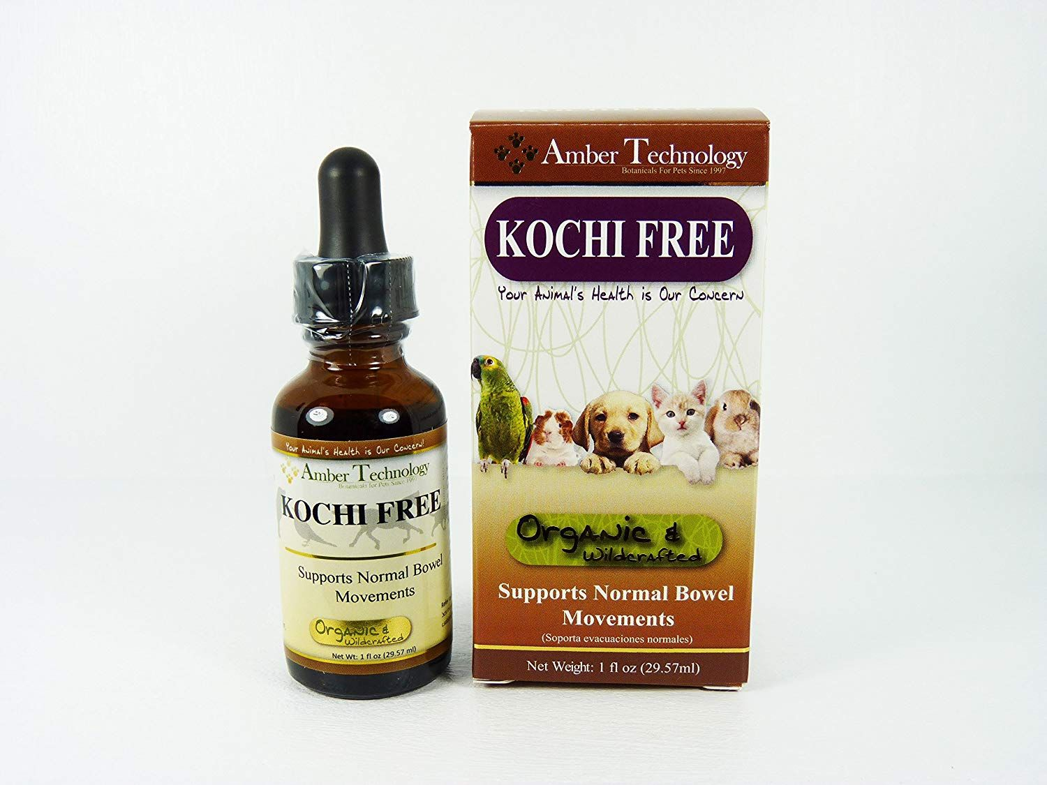 Amber Technology Kochi Free, 1 oz *** You can find more