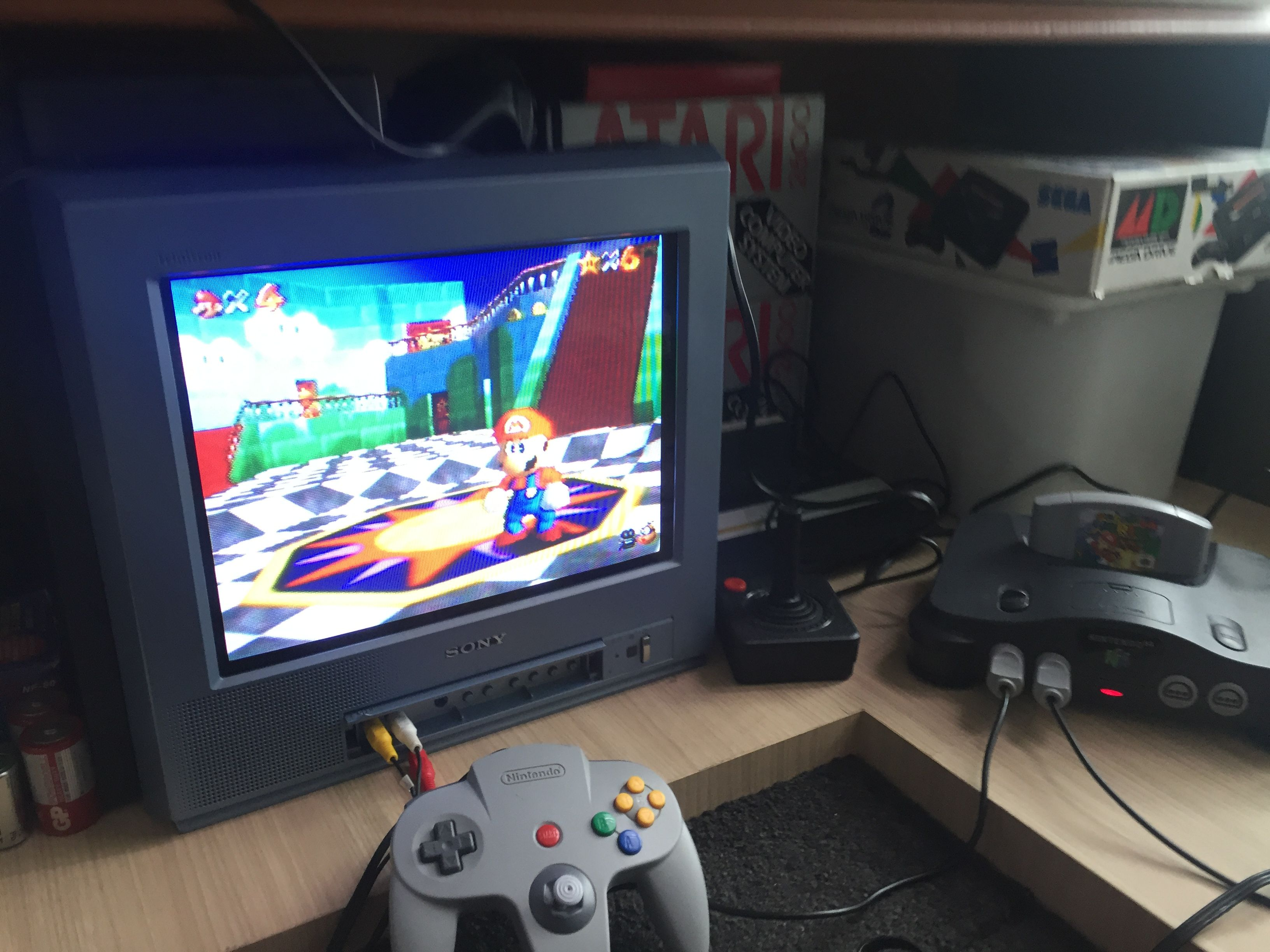 Super Mario 64 On Nintendo 64 Retro Gaming Old Games Super Mario