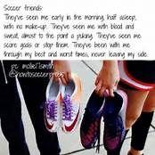 Best Friends Quotes Tumblr Soccer | Friendship | Soccer motivation
