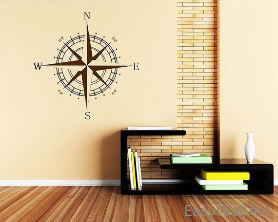 Comp Wall Decal Vinyl Nautical Beach Decals For Nursery Kids Art Decor Rose Stickers