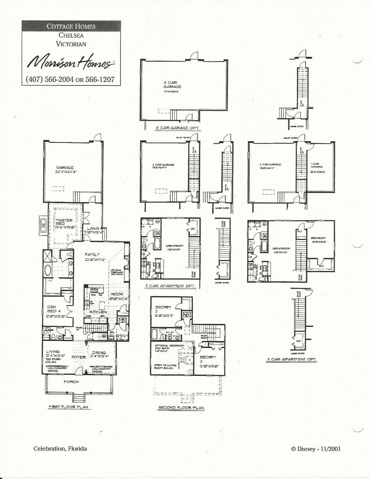Chelsea Victorian In Celebration Fl Floor Plans Morrison Homes Coastal Flooring