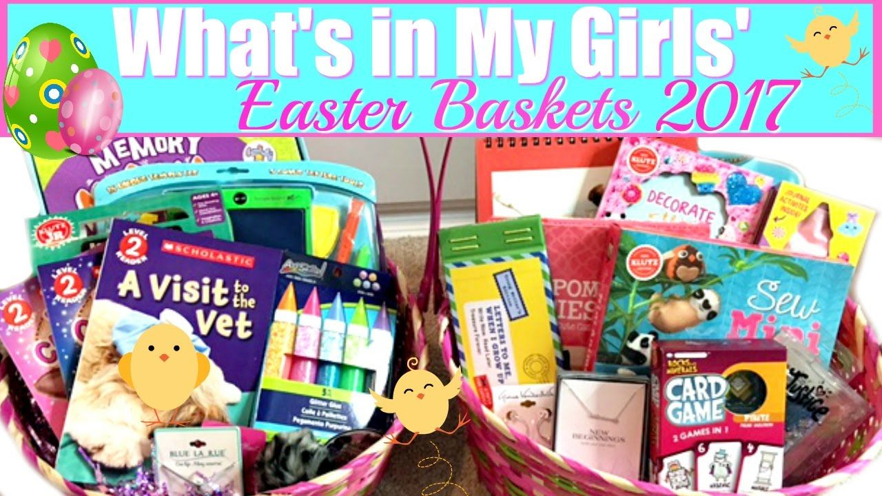 In todays video i am sharing what we are putting in our girls in todays video i am sharing what we are putting in our girls easter baskets this year when giving our girls gifts for any occasion i try to make it a negle Gallery