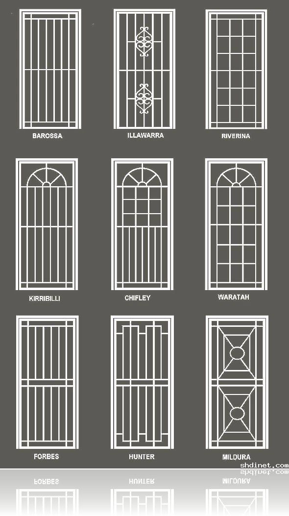 Simple Window Grill Designs