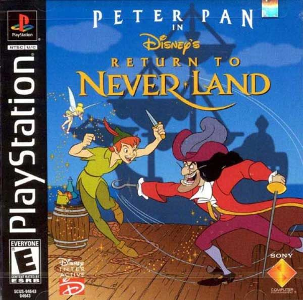 Return To Neverland With Images Peter Pan Playstation Peter