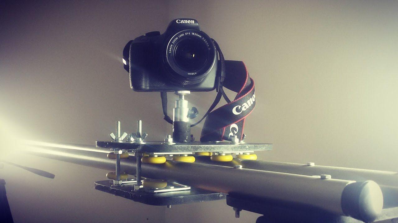 How To Make A Camera Slider Diy Camera Slider Dolly