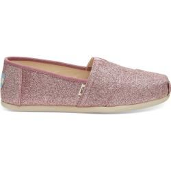 Toms Shoes Pink Glitter Classics para mujer – Talla 38.5 TomsToms