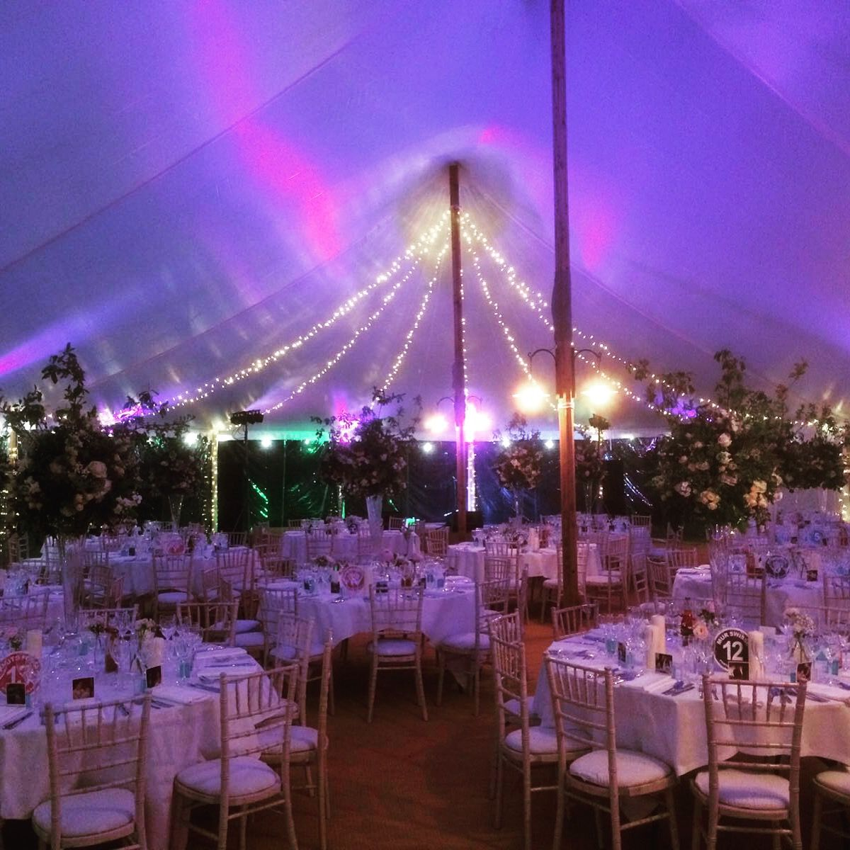 Wedding Altar Hire Uk: Sailcloth Tent Set For Wedding #wedding #marquee