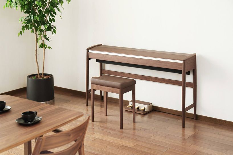 Roland Karimoku Kiyola Is Intended As Both A High End Musical Instrument  Plus An Item Of Furniture.