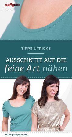 Photo of Nähanleitung Ausschnitt Kunst