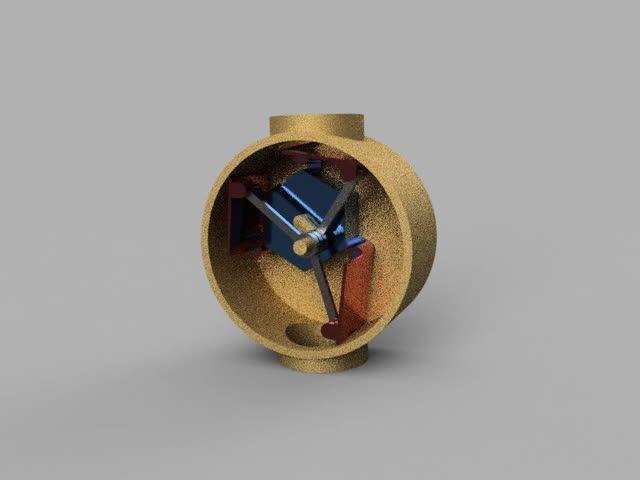 Lemielle_ventilating_machine  ルミエール換気機の動画。下から空気を吸って上から排気する。