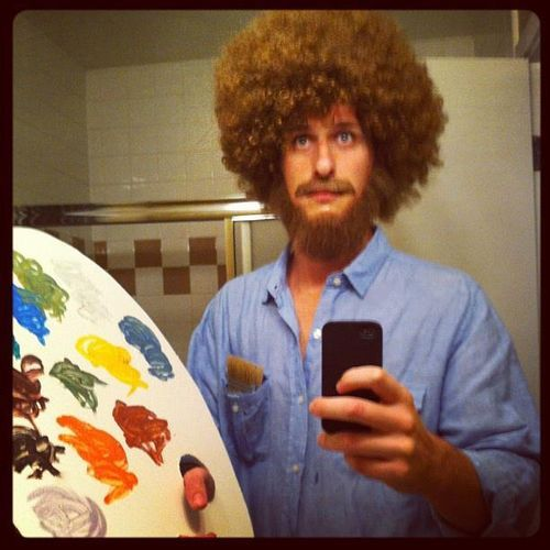 This would be a funny halloween costume bob ross random stuff this would be a funny halloween costume bob ross voltagebd Gallery