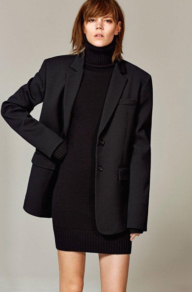 45b5f1d5e76a Freja Beha Erichsen   Mica Arganaraz Star in Zara Woman Studio 2016 ...