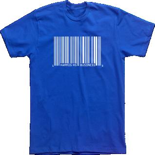 Custom T Shirt Designs Tees High School Fbla Business Club Barcode School Tshirts Wharton Business School Custom Tshirt Design