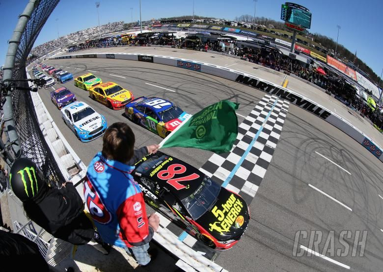 nascar results for sunday