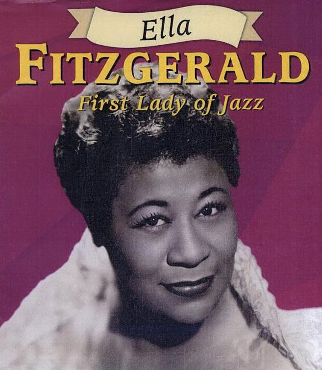 Ella Fitzgerald The First Lady Of Jazz Desenhos