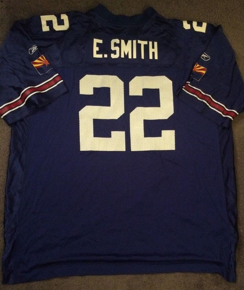 Emmitt Smith Rare Blue Edition Arizona Cardinals jersey 56 3XL NFL HOF  Cowboys please retweet 9bce8f95897d