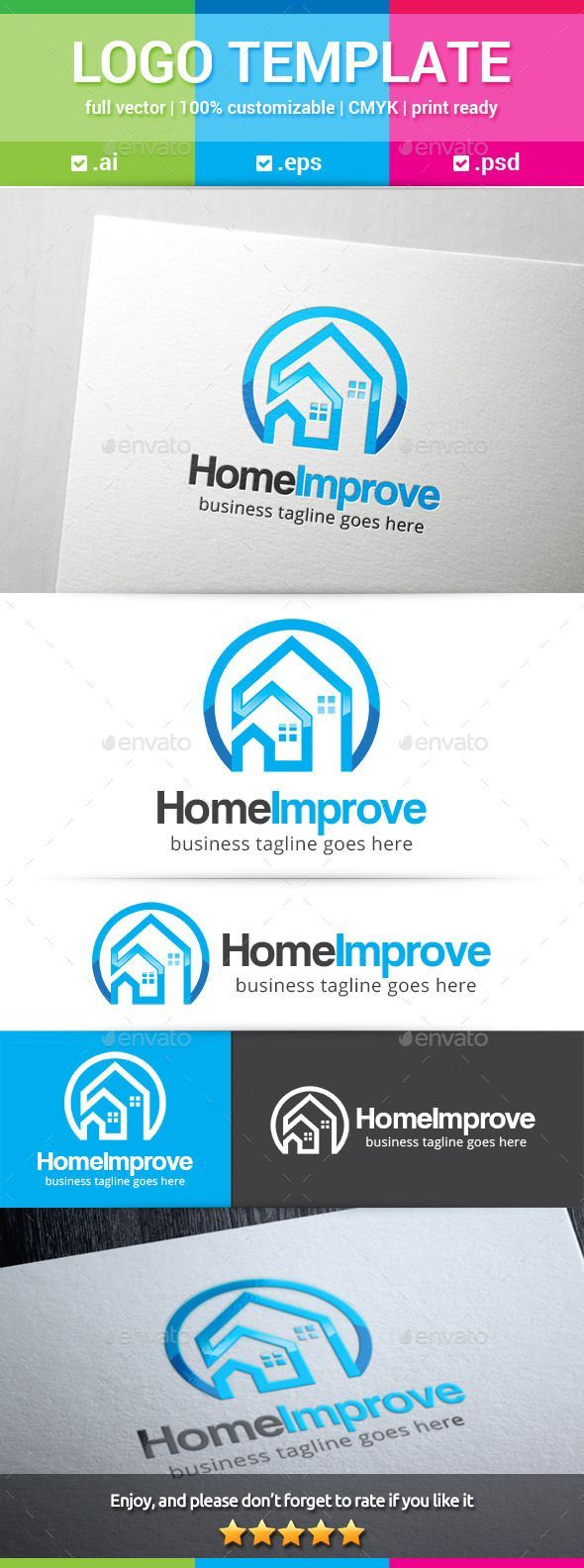 Home Improvement Logo | Remodeling ideas, Kitchens and House